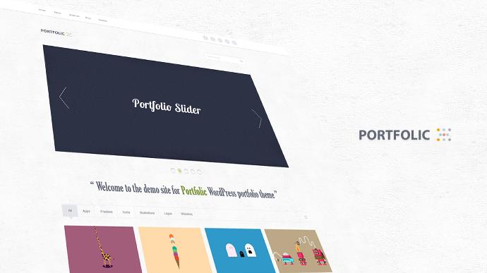 Portfolic Portfolio Theme(PSD)