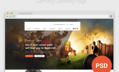 Game_News_Landing_Page_Design_Free