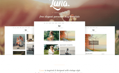 Personal_Blog _Template