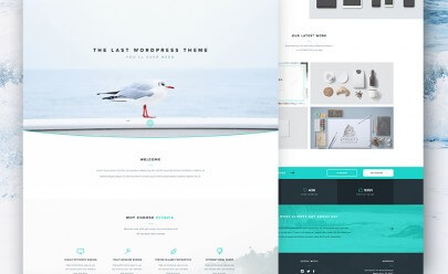 clean_landing_page_free_psd