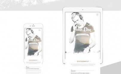 responsive_template_for_musician