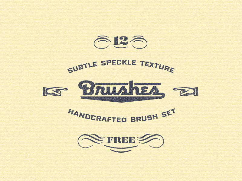 12 Amazing Subtle Texture Brush Set