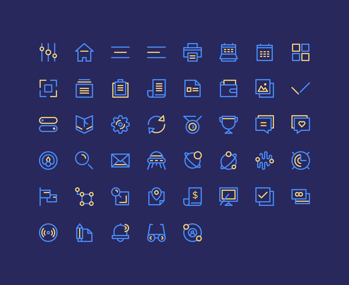 Birply icon set