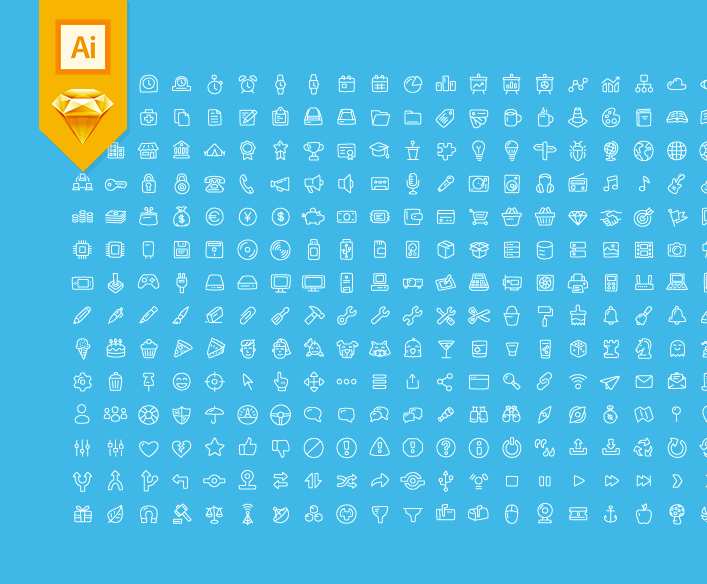 280 General icons