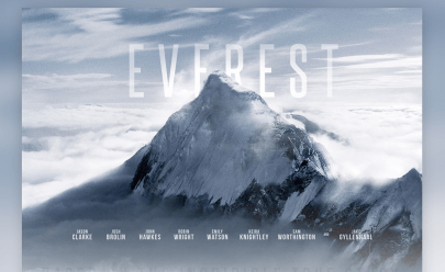 Everest Movie Template psd