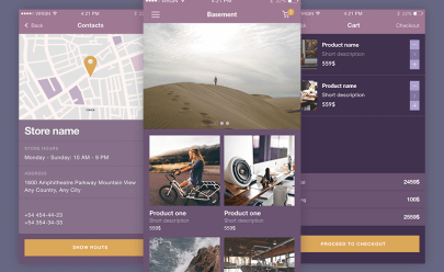 Beautiful UI Kit iOS Sketchapp-PPSD