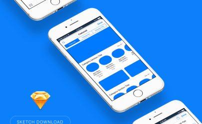iOS Sticker AppStore Displays Free Sketch App