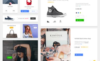 E-commerce Ui Kit Sketch App