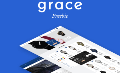 Grace UI Kit Free PSD