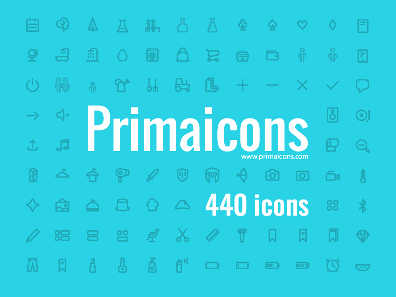 Awesome icons Ai-EPS-PDF