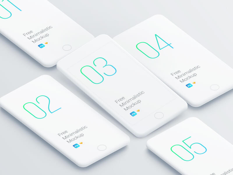 iPhone mockup PSD
