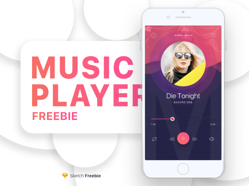 Music Player sketchapp