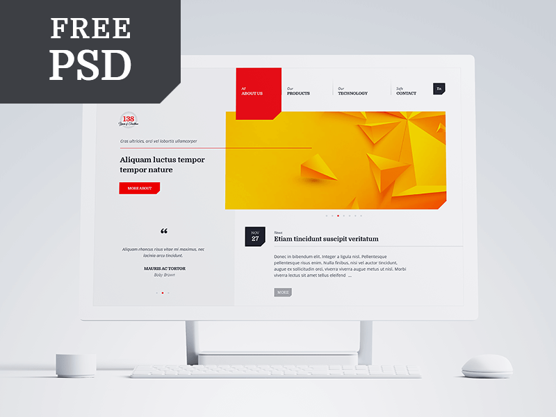 Free Multipurpose PSD