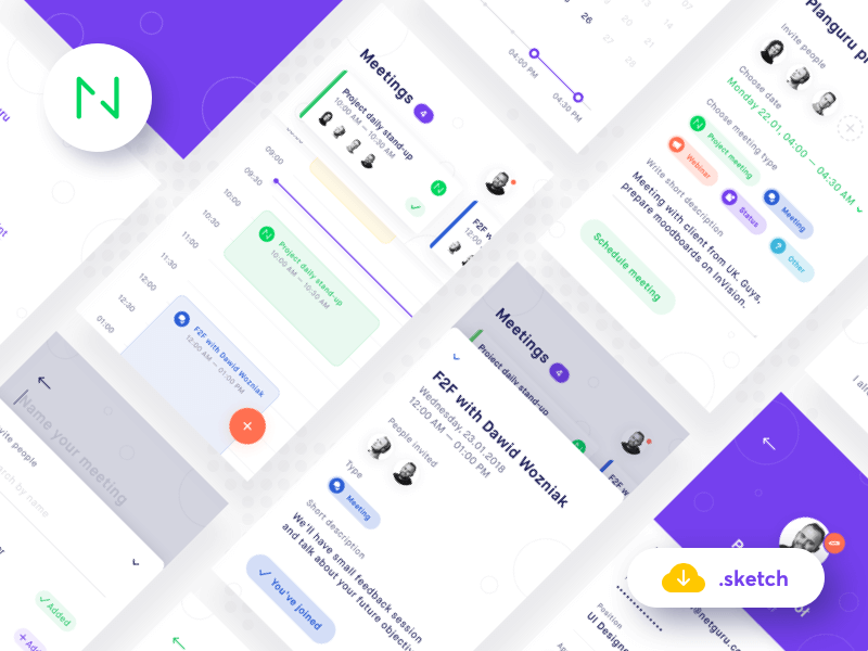 Mobile UI Kit .sketch