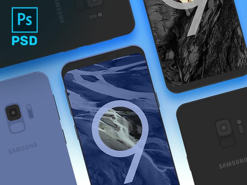 Samsung Galaxy S9 PSD