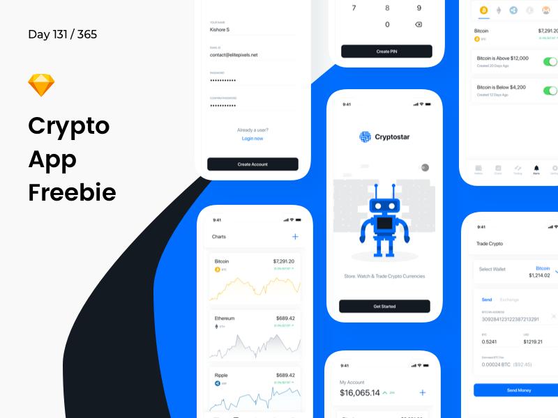 Crypto App .sketch