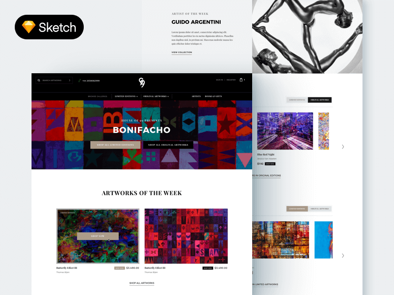 website templates free psds sketch app resources for designers