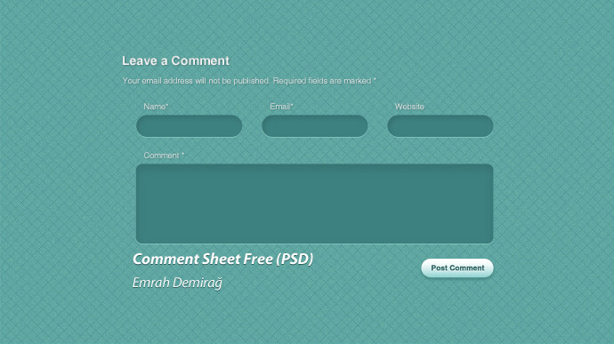 commend-page-design