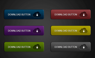 6 Color Download Button(PSD)