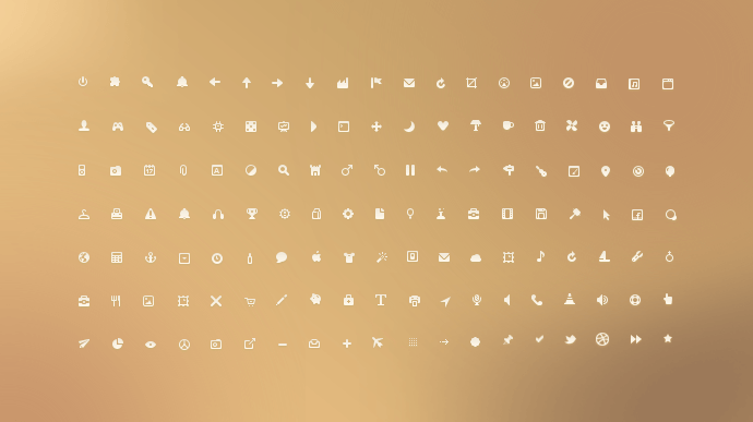 Small Ui İcons(PSD)