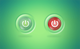 On Off Button(PSD)