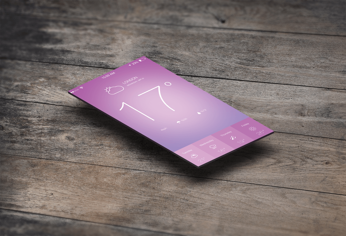 Datation App Design PSD