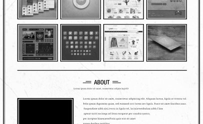 retro-single-page-portfolio-temlpate-free-psd