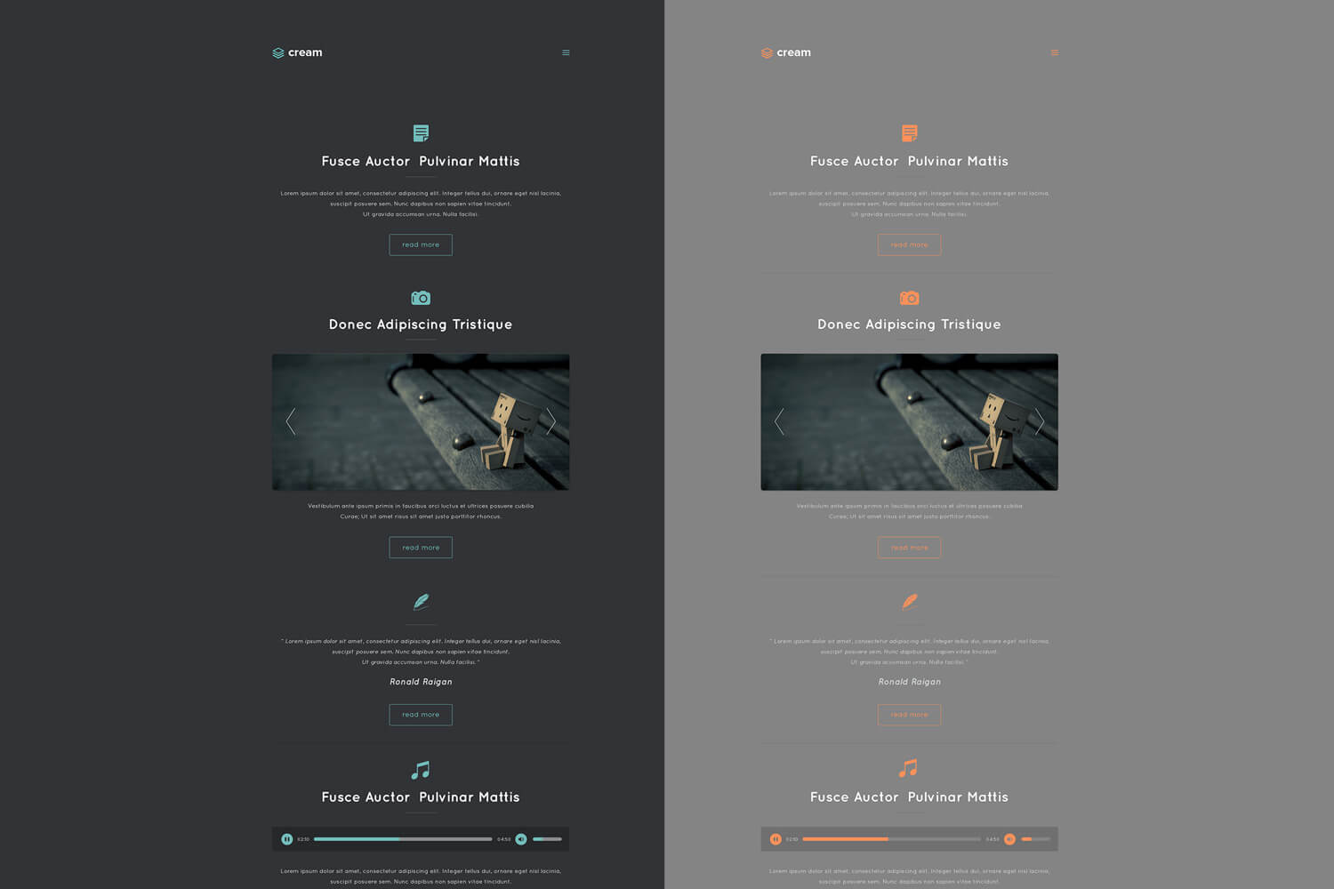 cream-theme-personal-webtemplate