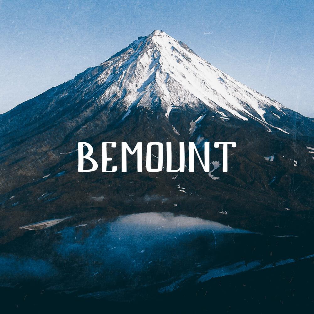 Bemount Handwritten free font