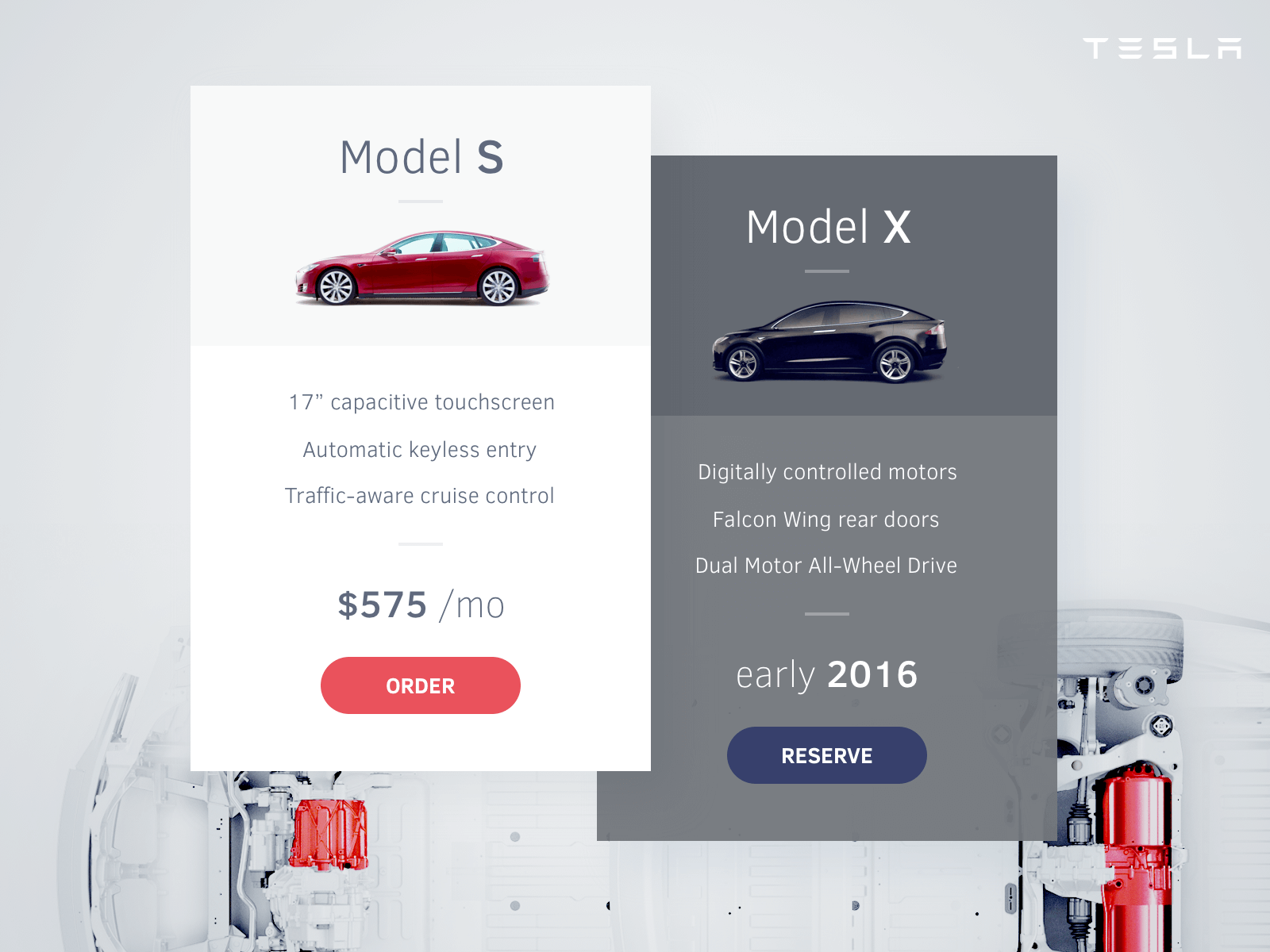 Cars Pricing Table
