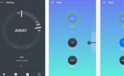 Nest Material Design Sketch