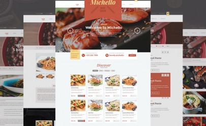 Restaurant_wordpress_template_free_psd