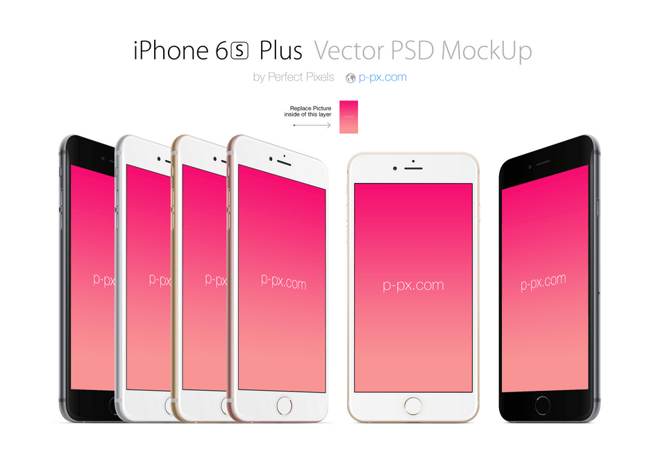 iPhone 6s Plus Mockups