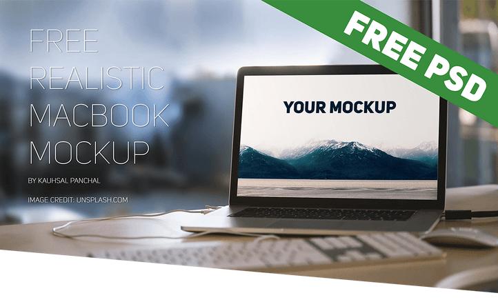 Macbook Mockup PSD