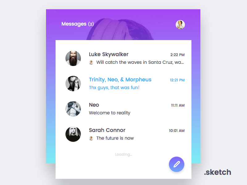 messenger_widget_free_sketch
