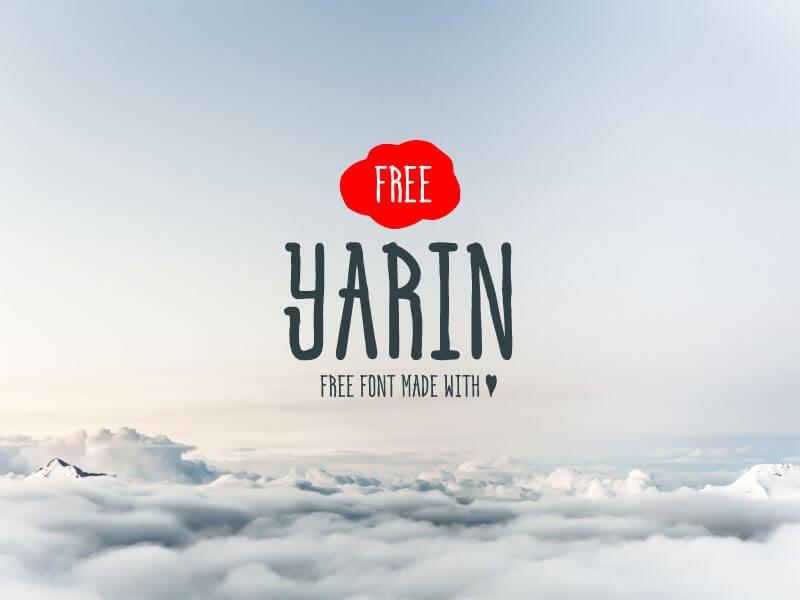 Yarin Amazing Font Family