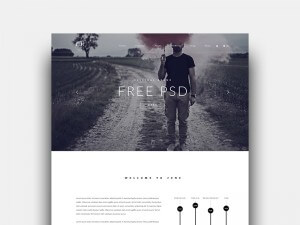corporate template free psd