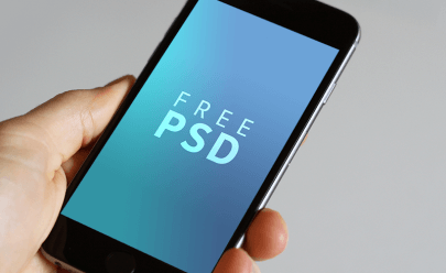 iPhone 6-6s PSD