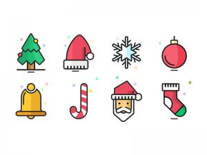 Christmas Icons Sketch App