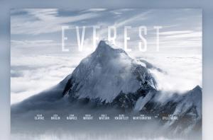 Everest Movie Template psd