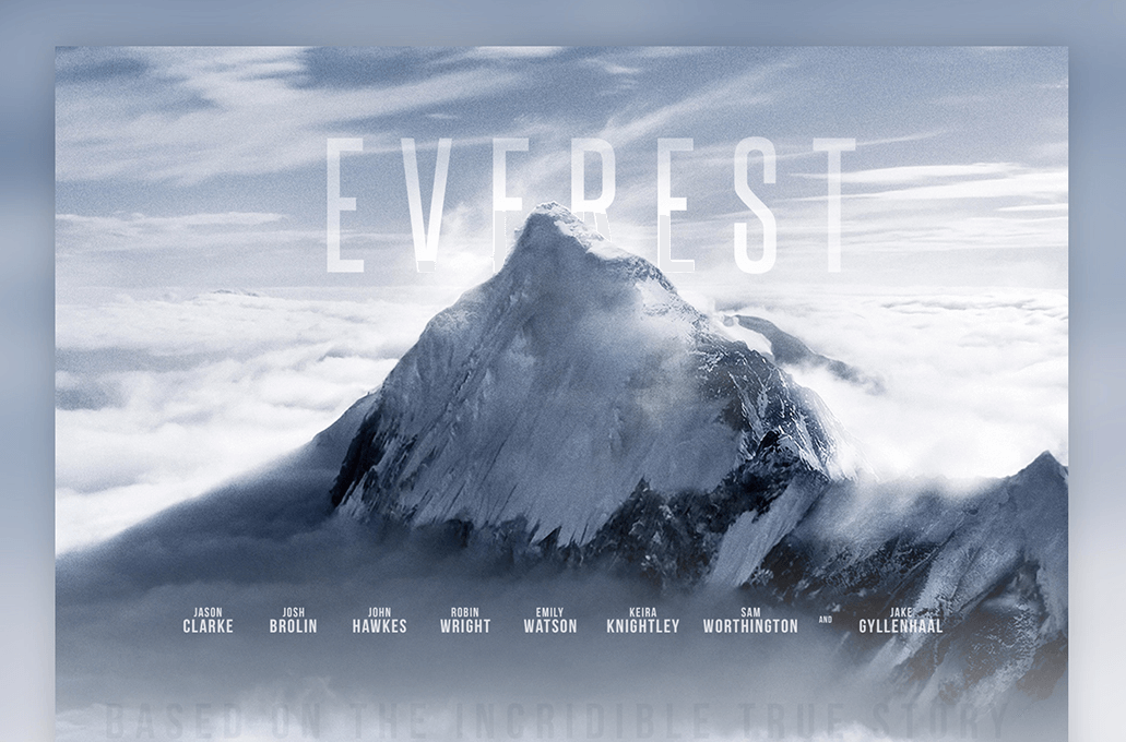 Everest Movie Template