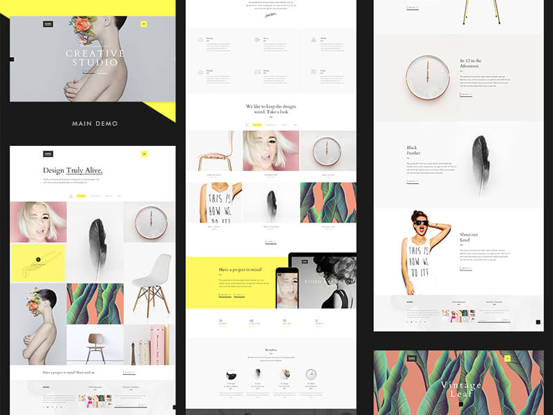 Onepage Clean Template