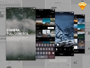 Photo Editing App Design