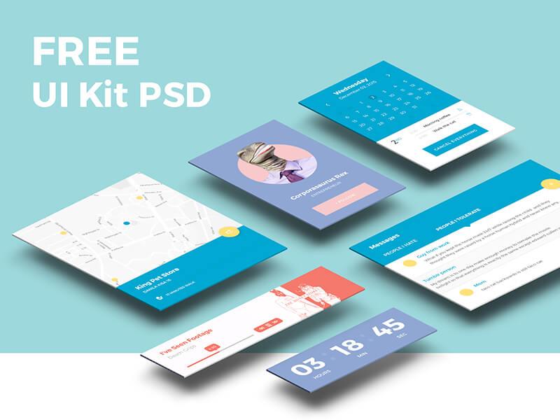 UI Kit PSD