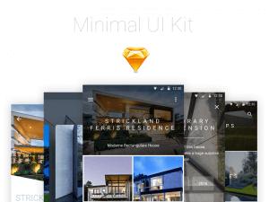 Minimal UI Kit Sketchapp Template