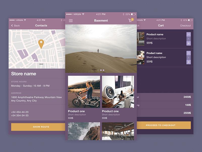 Beautiful UI Kit iOS Sketchapp-PSD