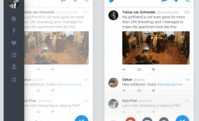 Twitter for Android Redesign sketch app