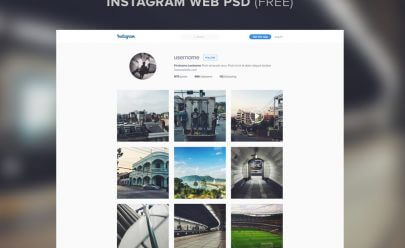 instagram_website_template_psd