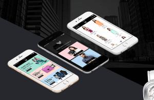 Fashion Store App Design Sketch