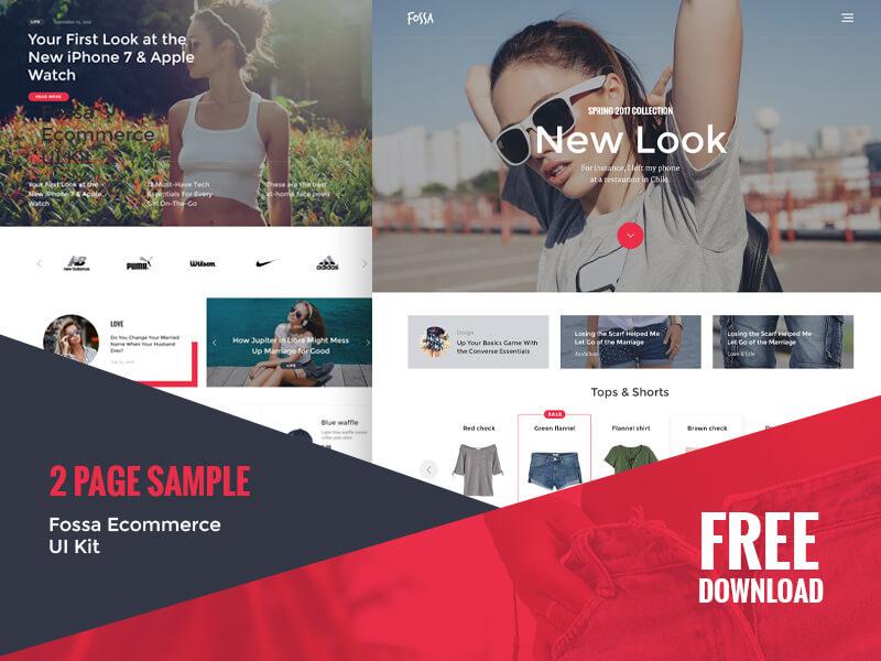 fossa-ecommerce-ui-kit-free-psd